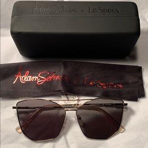 NWT Adam Selman x Le Specs Cat eye wire frame